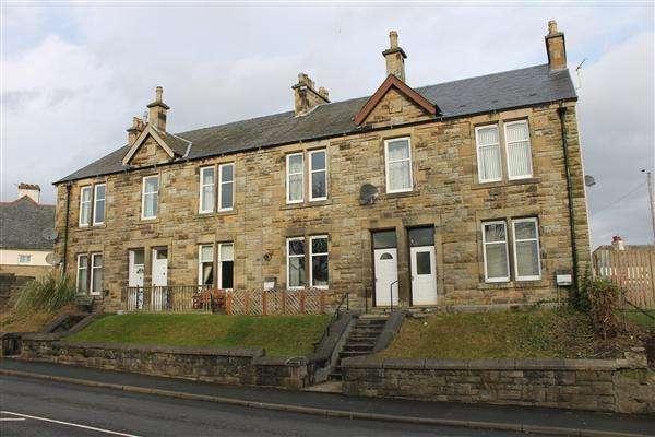 2 Bedrooms Flat for rent in Ferndene Terrace, New Road, Bannockburn