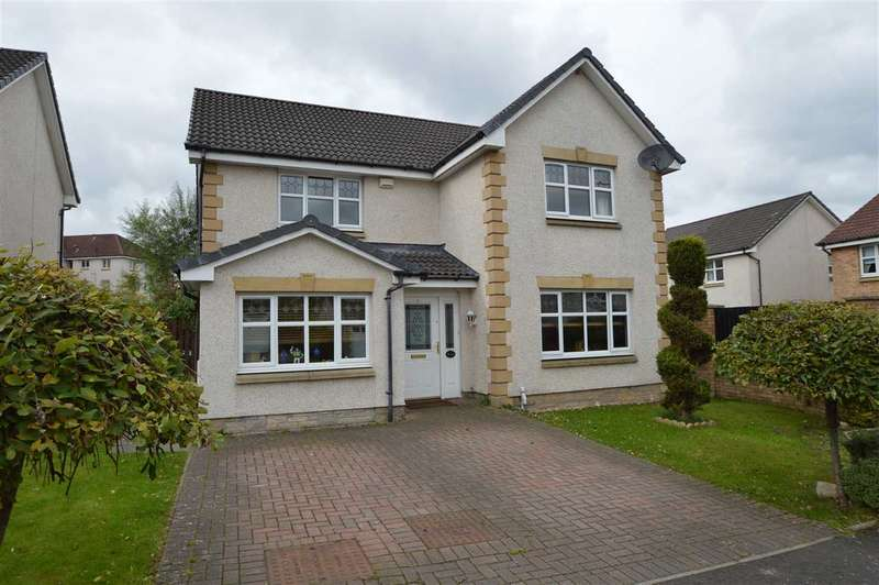 4 Bedrooms Detached House for sale in Burte Court, Bellshill