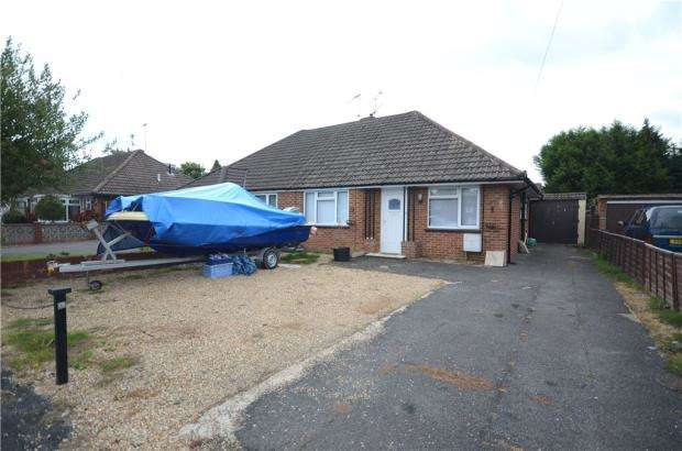 2 Bedrooms Semi Detached Bungalow for sale in Lynn Way, Farnborough, Hampshire