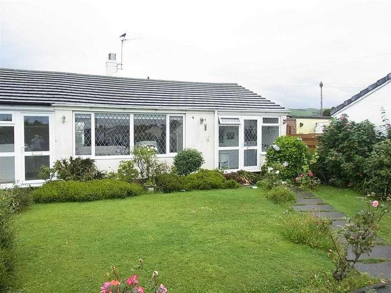 2 Bedrooms Terraced Bungalow for sale in 7, Cantref, Tywyn, Gwynedd, LL36
