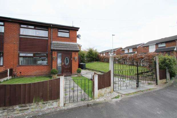 3 Bedrooms Semi Detached House for sale in Ashwood Avenue Abram Wigan