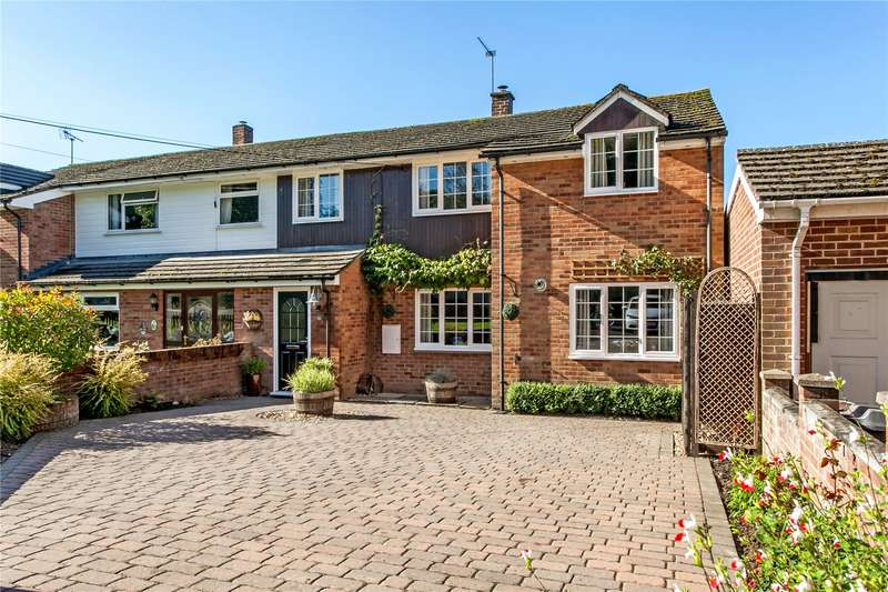 3 Bedrooms Semi Detached House for sale in Kings Elms, Barton Stacey, Winchester, Hampshire, SO21