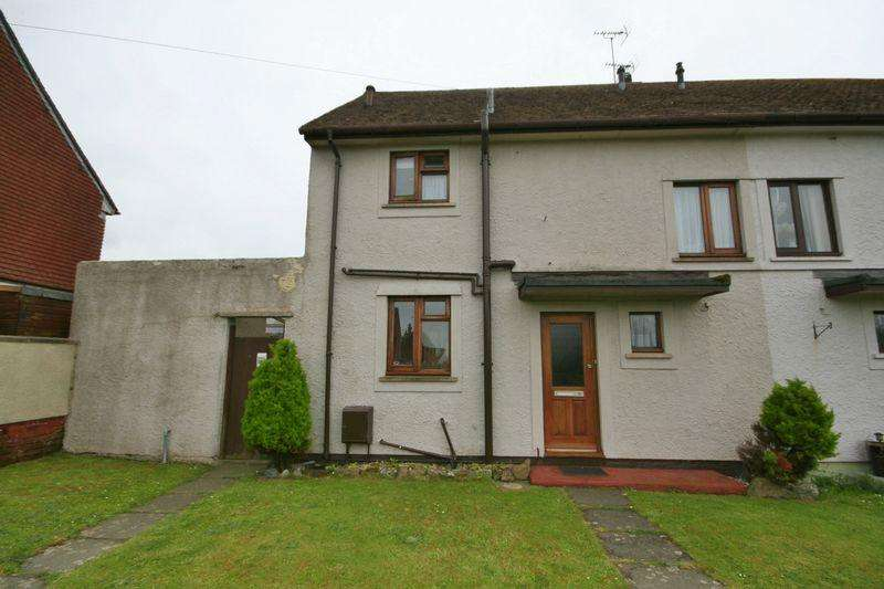 2 Bedrooms Semi Detached House for sale in Ffordd Cerrig Mawr, Caergeiliog, Anglesey