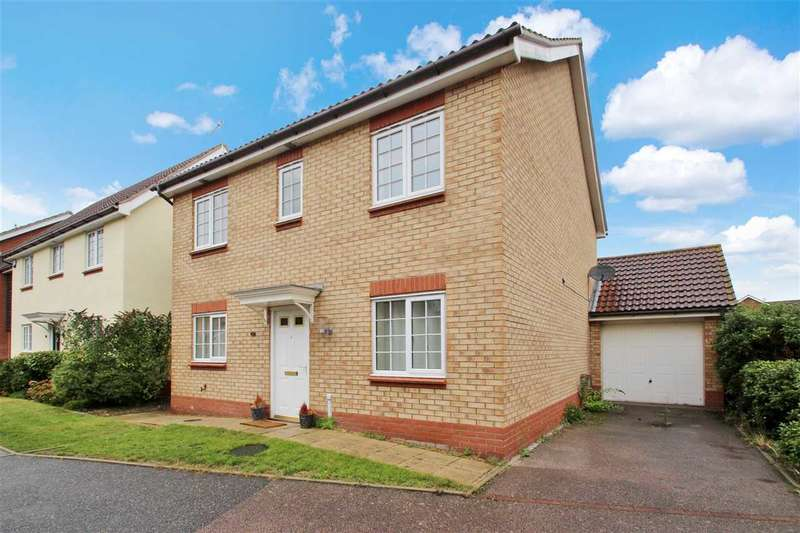 4 Bedrooms Detached House for sale in Turnbull Close, Grange Farm, Kesgrave, Ipswich