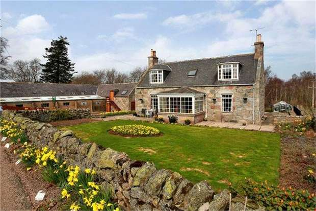 3 Bedrooms Cottage House for sale in Banchory, Banchory, Aberdeenshire
