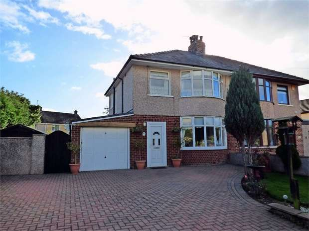 3 Bedrooms Semi Detached House for sale in Hallam Lane, Middleton, Morecambe, Lancashire