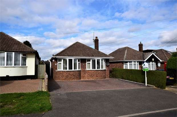 2 Bedrooms Detached Bungalow for sale in Woodside Avenue, Boothville, Northampton