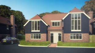 4 Bedrooms Detached House for sale in Farthings Wood Rise, Calcott, Canterbury, Kent