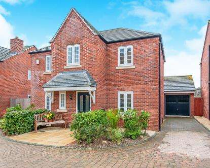 4 Bedrooms Detached House for sale in Charlotte Way, Peterborough, Cambs, .
