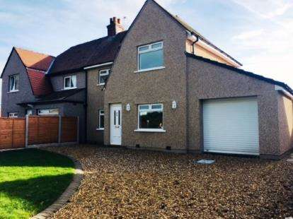 3 Bedrooms Semi Detached House for sale in South Road, Morecambe, Lancashire, United Kingdom, LA4