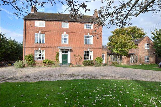 6 Bedrooms Detached House for sale in The Red House, Back Lane, Bredon, TEWKESBURY, Gloucestershire, GL20 7LH