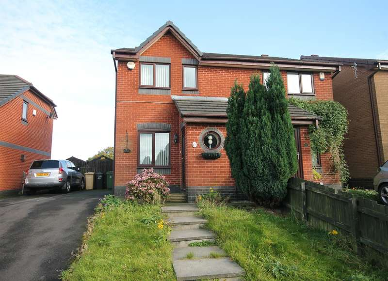 2 Bedrooms Semi Detached House for sale in Sevenoaks Drive, Great Lever, Bolton, BL3 3ED