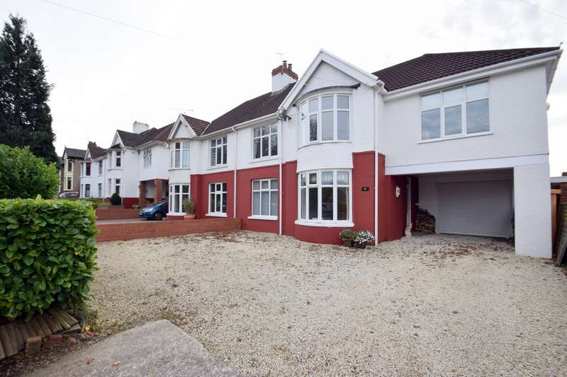 5 Bedrooms Semi Detached House for sale in 62 Ewenny Road, Bridgend, Bridgend County Borough, CF31 3HU.