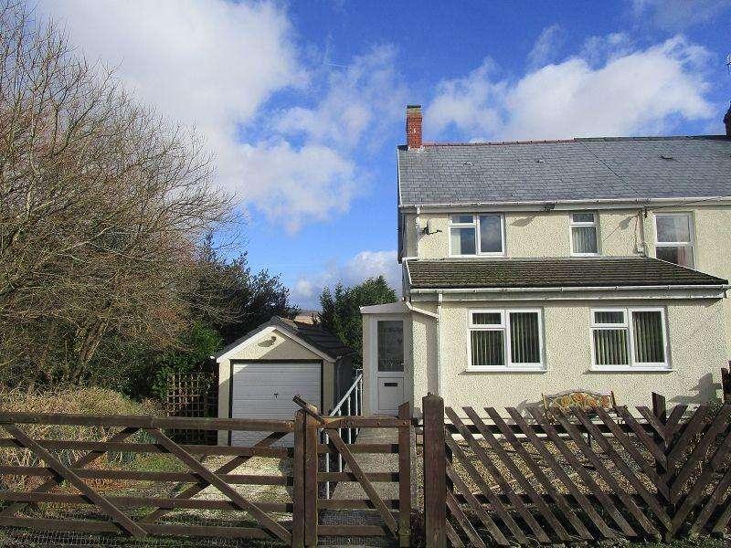 3 Bedrooms Semi Detached House for sale in Pen Y Bryn , Cwmllynfell, Swansea.