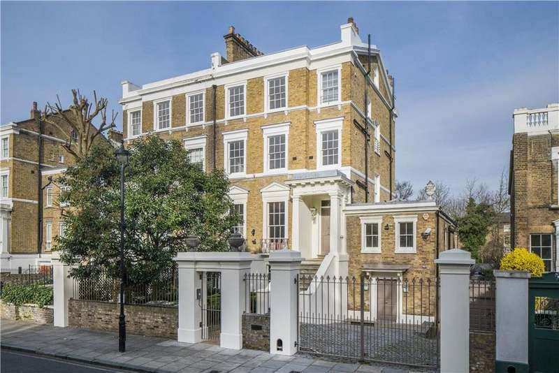 6 Bedrooms Semi Detached House for sale in Marlborough Place, London, NW8