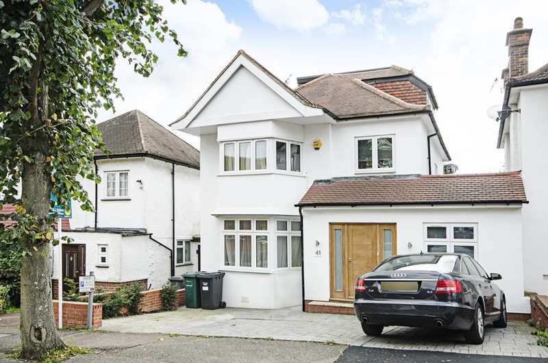 5 Bedrooms Detached House for sale in Elliot Road, Hendon, NW4