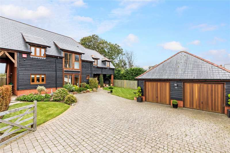 4 Bedrooms Detached House for sale in The Grange, Five Heads Road, Horndean, Waterlooville, PO8