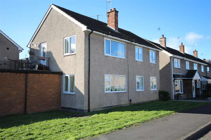 2 Bedrooms Apartment Flat for sale in Bunting Close, Kirk Hallam