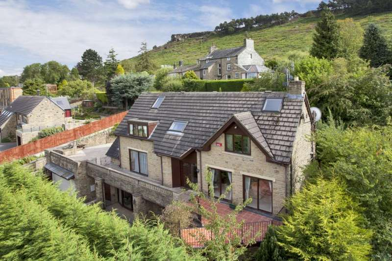 5 Bedrooms Detached House for sale in Maxwell Road, Ben Rhydding, Ilkley, West Yorkshire