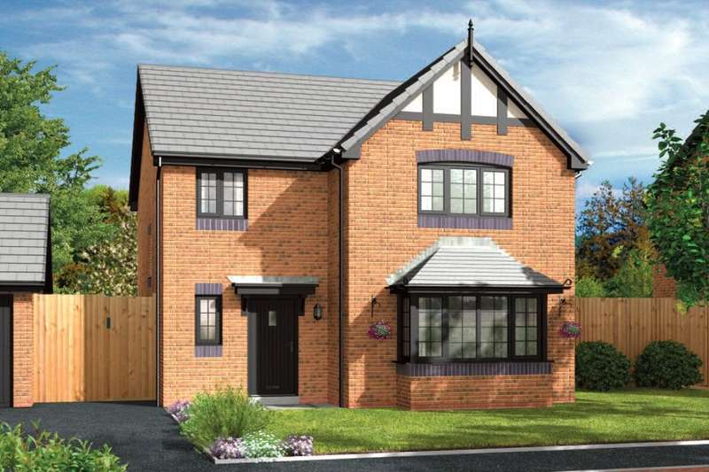 4 Bedrooms Detached House for sale in Daneside Park Forge Lane, Congleton, CW12