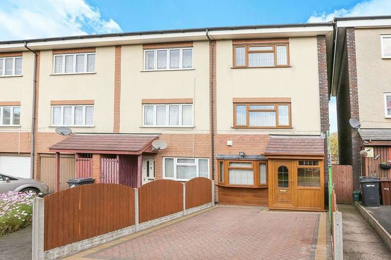 3 Bedrooms Property for sale in George Street, Ettingshall, Wolverhampton, WV2