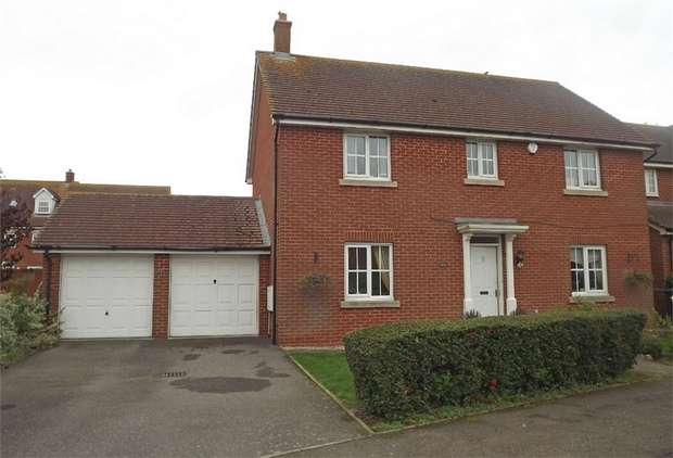 4 Bedrooms Detached House for sale in Acacia Drive, Hersden, Canterbury, Kent