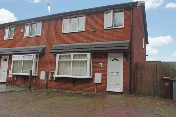 3 Bedrooms End Of Terrace House for sale in Makkah Close, Manchester