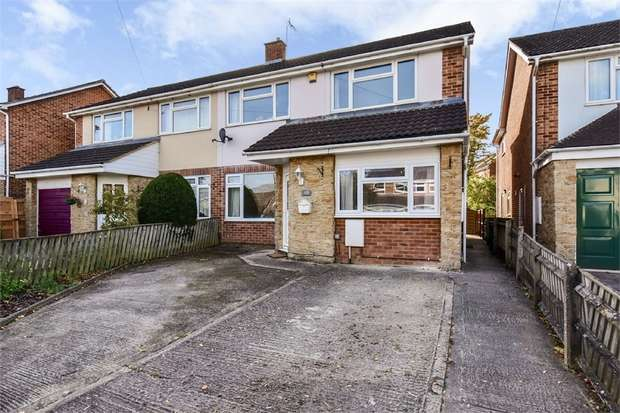 3 Bedrooms Semi Detached House for sale in Frogmore Road, Westbury, Wiltshire