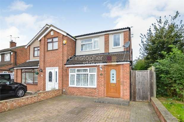 3 Bedrooms End Of Terrace House for sale in Herongate Road, Cheshunt, Hertfordshire