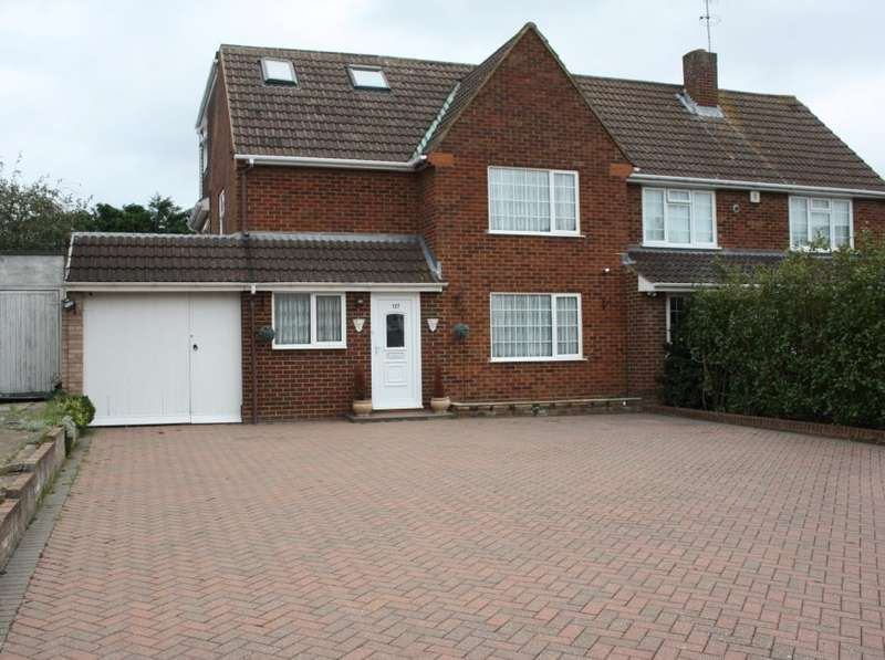 5 Bedrooms Semi Detached House for sale in Silverdale Road, Earley, Reading, RG6