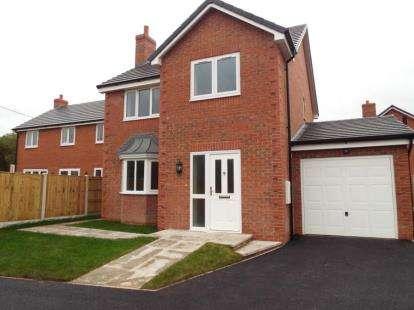 4 Bedrooms Detached House for sale in Alltami Heath, Alltami Road, Buckley, CH7