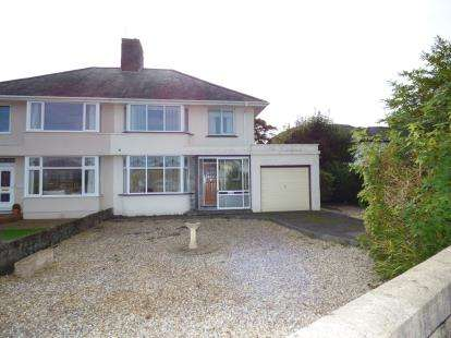 3 Bedrooms Semi Detached House for sale in Meadow Drive, Porthmadog, Gwynedd, LL49