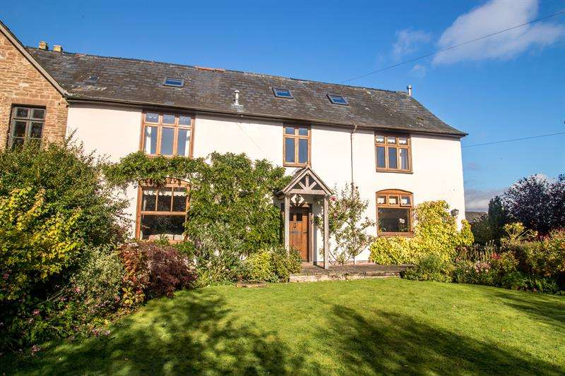 5 Bedrooms Semi Detached House for sale in Llangarron, Ross-On-Wye