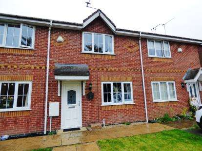 2 Bedrooms Terraced House for sale in Whiston Close, Macclesfield, Cheshire
