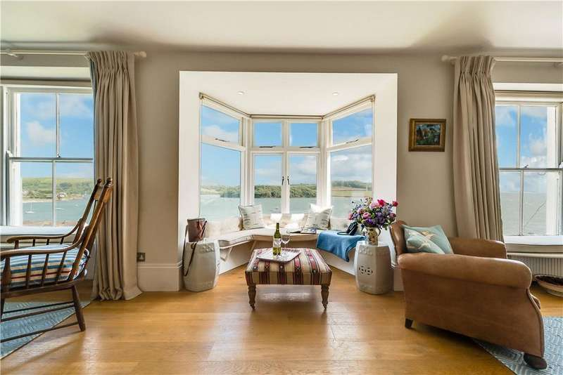 4 Bedrooms Semi Detached House for sale in Gibraltar Terrace, St. Mawes, Truro, Cornwall, TR2