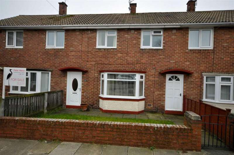3 Bedrooms Terraced House for sale in Atlantis Road, Farringdon, Sunderland