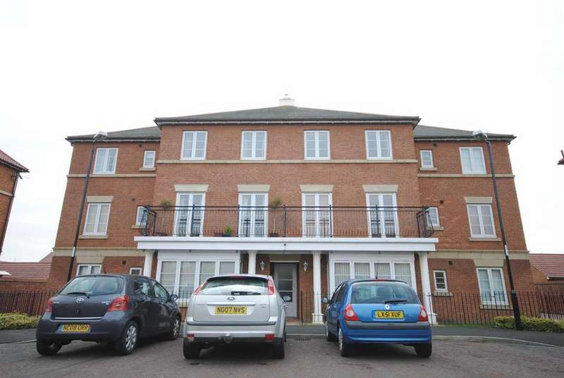 2 Bedrooms Flat for sale in Aylesford Mews, Greystoke Manor, Sunderland