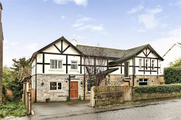 5 Bedrooms Detached House for sale in Longlands Road, Slaithwaite, Huddersfield, West Yorkshire