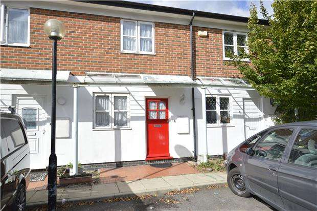 2 Bedrooms Terraced House for sale in Pageant Avenue, LONDON, NW9 5LQ