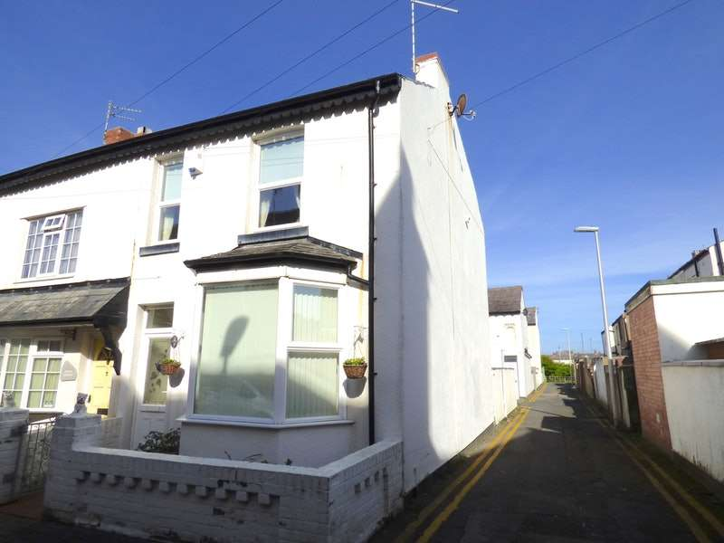 2 Bedrooms Terraced House for sale in Ruskin Avenue, Blackpool, Lancashire, FY1