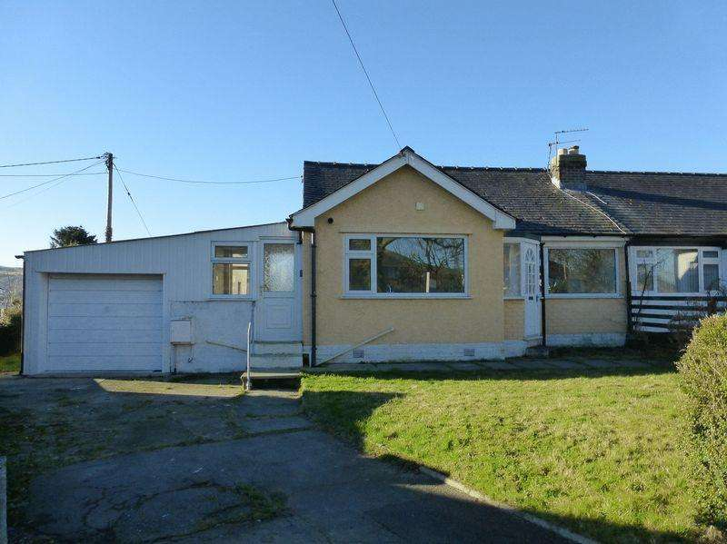 3 Bedrooms Semi Detached Bungalow for sale in Bethesda