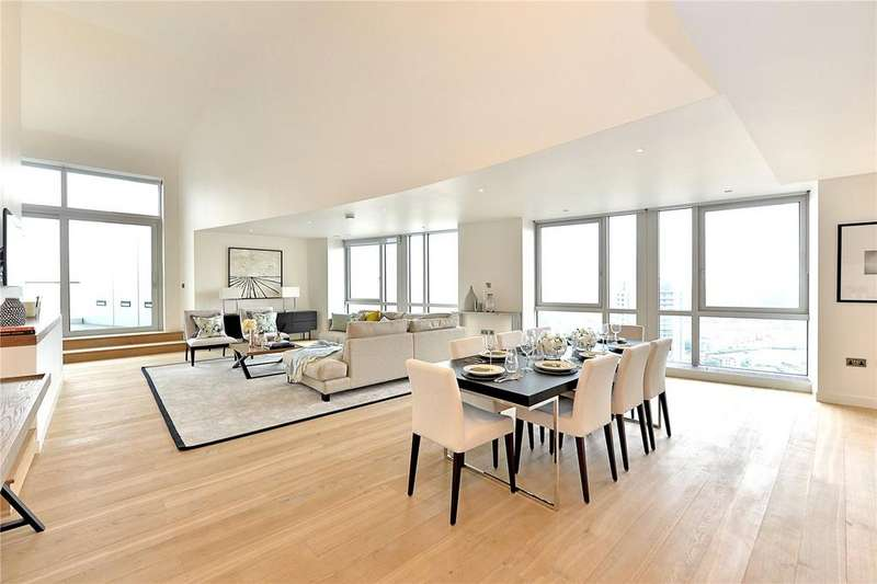 3 Bedrooms Flat for sale in Ontario Tower, 4 Fairmont Avenue, London
