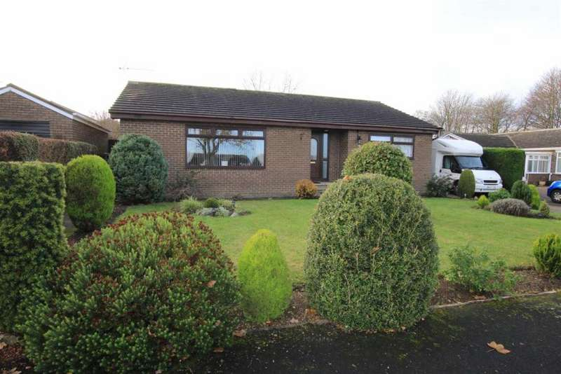 3 Bedrooms Detached Bungalow for sale in Haselrigg Close, School Aycliffe