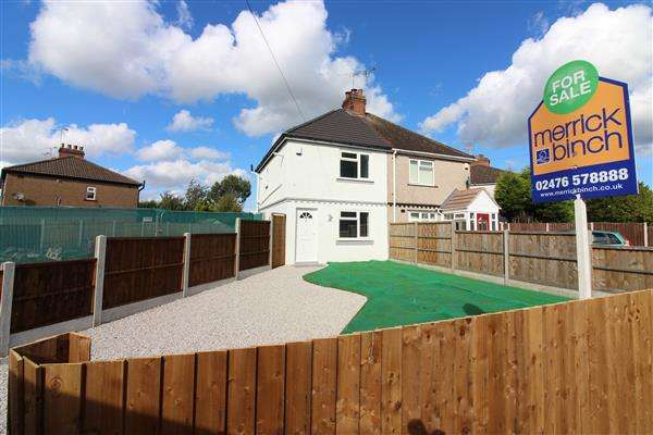 2 Bedrooms Semi Detached House for sale in Haddon Street, Courthouse Green, Coventry