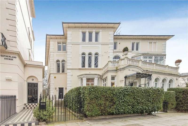 4 Bedrooms Semi Detached House for sale in Sutherland Avenue, London, W9