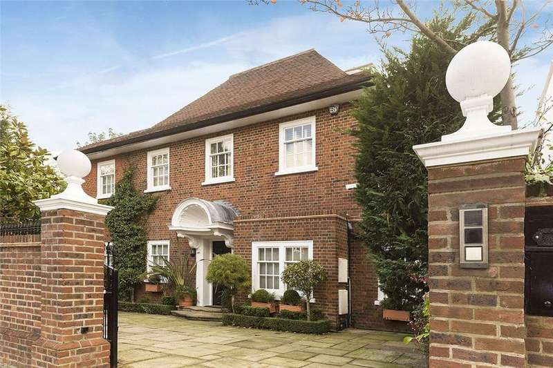 4 Bedrooms House for sale in Queens Grove, London, NW8