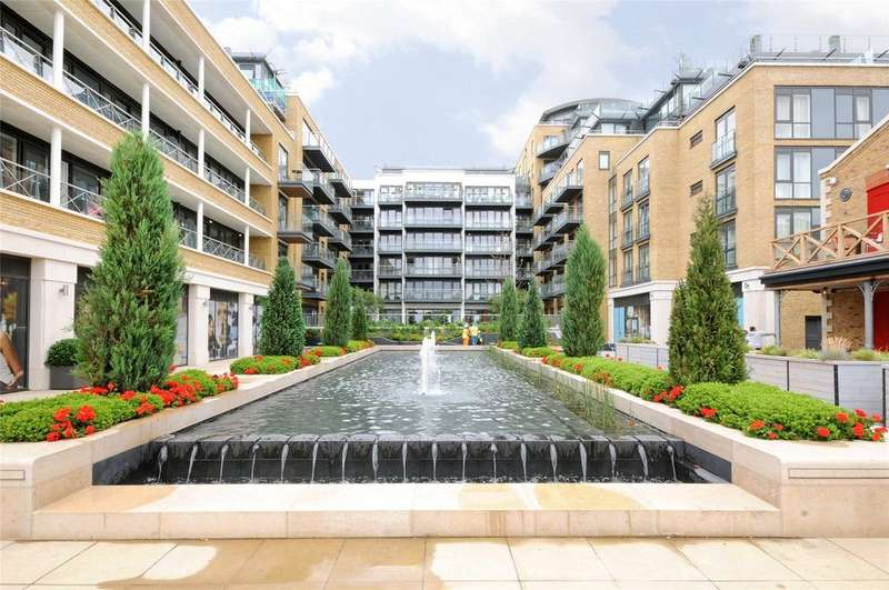 2 Bedrooms Flat for sale in Rothschild House, 8 Kew Bridge Road, Brentford, Middlesex