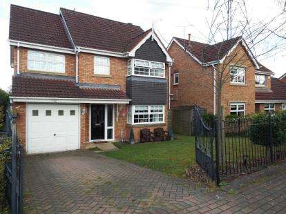 4 Bedrooms Detached House for sale in Dereham Way, Sandymoor, Runcorn, Cheshire, WA7