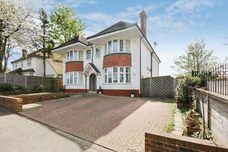4 Bedrooms Semi Detached House for sale in CHEAM