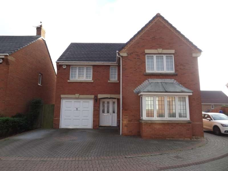 4 Bedrooms Detached House for sale in Lon Lindys, Rhoose, Barry